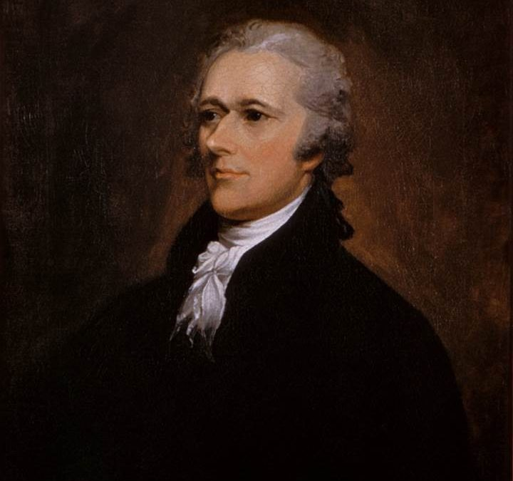 Remember Alexander Hamilton on his Birthday by Yvonne Starks