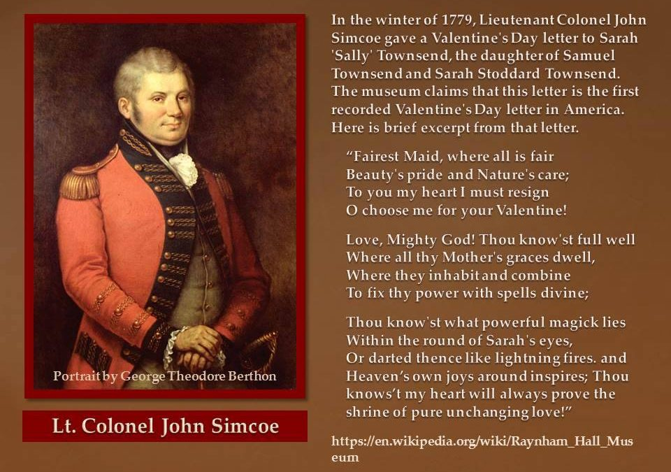 America S First Valentine S Day Letter Founders Keep